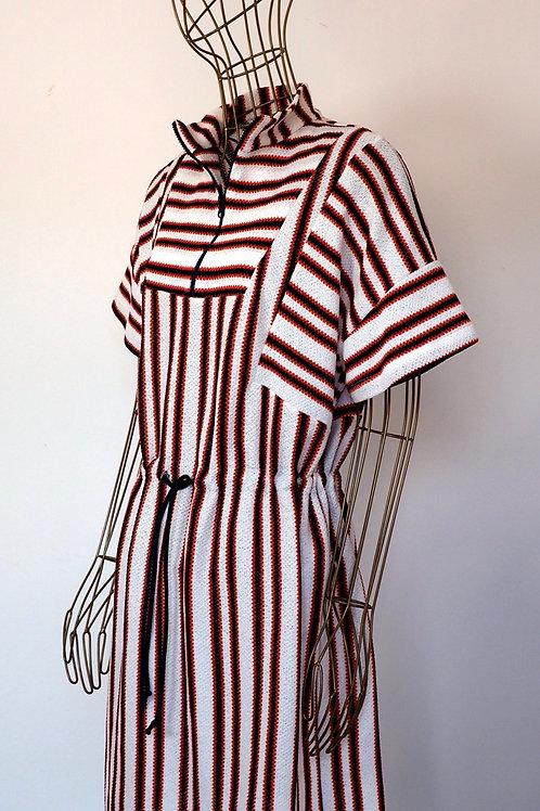 ZARA Striped Woven Dress
