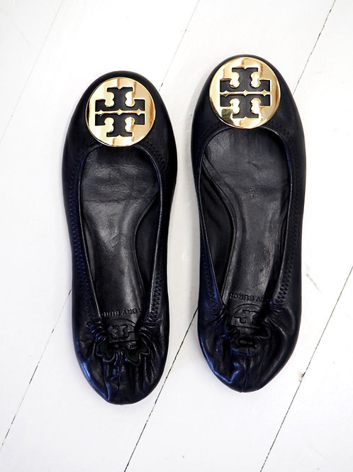 TORY BURCH Leather Balerinas