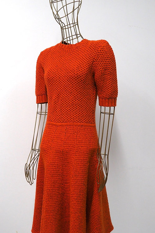Twenty8twelve Orange Knitted Dress