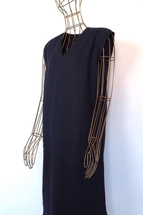 JIGSAW Navy Linen Dress