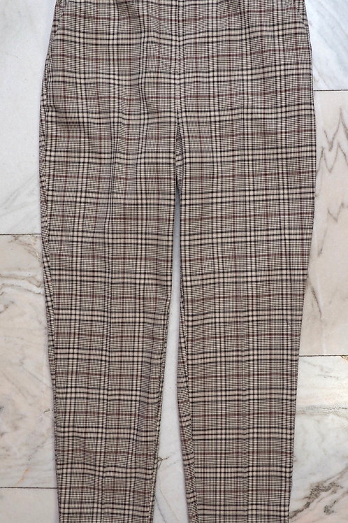 RESERVED Checked Carrot Pants