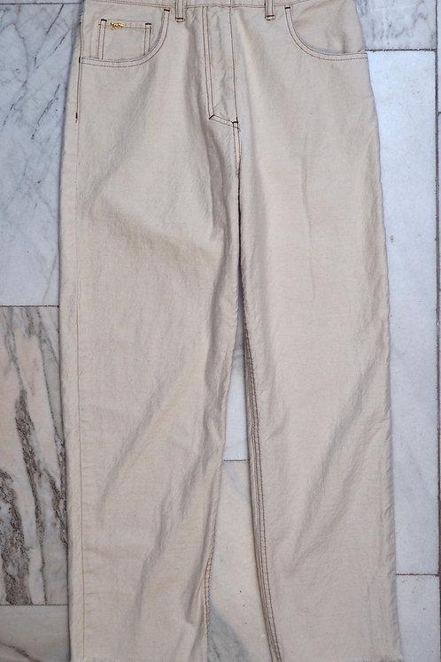 NANUSHKA Off-White Denim Pants