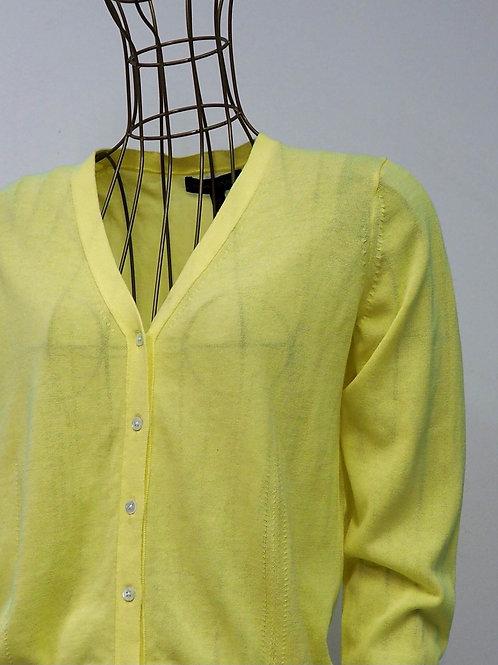 BANANA REPUBLIC Yellow Cardigan