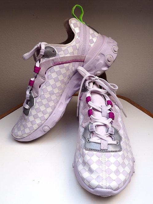 NIKE React Checked Sneakers