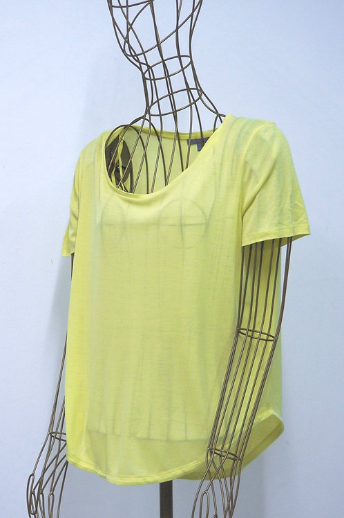 COS Yellow Knit T-Shirt