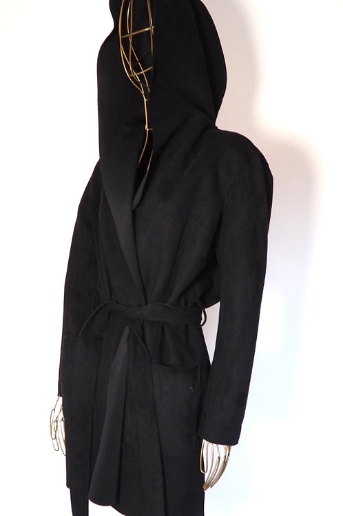 ZARA Oversized Hooded Trenchcoat