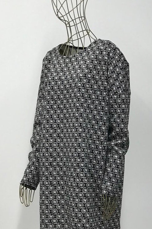 Zara TRF Printed Dress