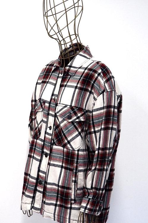 ZARA Oversize Tartan Shirt