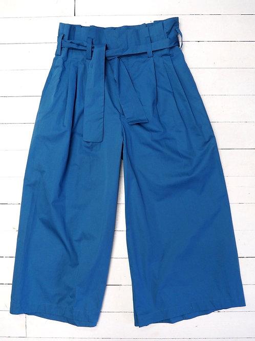 ZARA Cotton Wideleg Pants