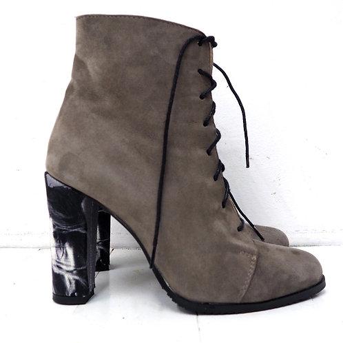 MIHAELA Glavan Lace-up Boots