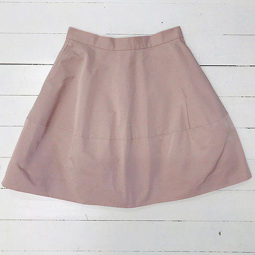 COS A-line Pastel Pink Skirt