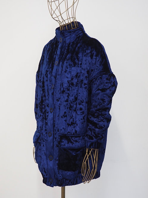 TOMCSANYI Quilted Velvet Jacket