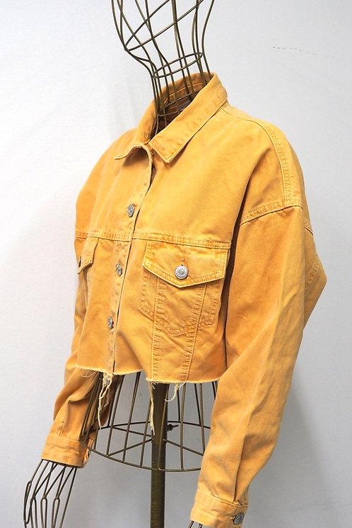 ZARA Cropped Peachy Jacket