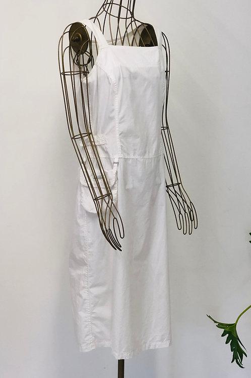 Tatuum White Dress with Pocket
