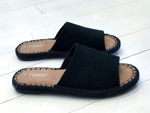 TOMS Leather Slippers