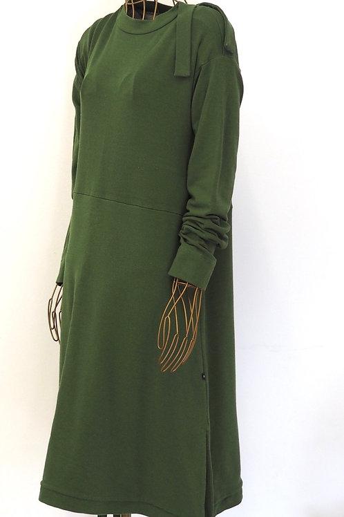 NON+ Grassgreen Sweaterdress