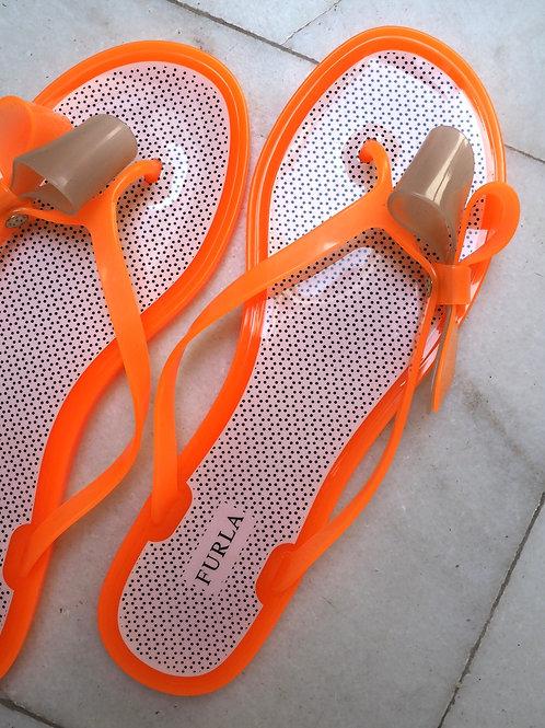 FURLA Neon Slippers