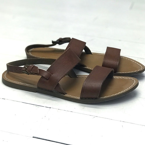 Mango Leather Sandals