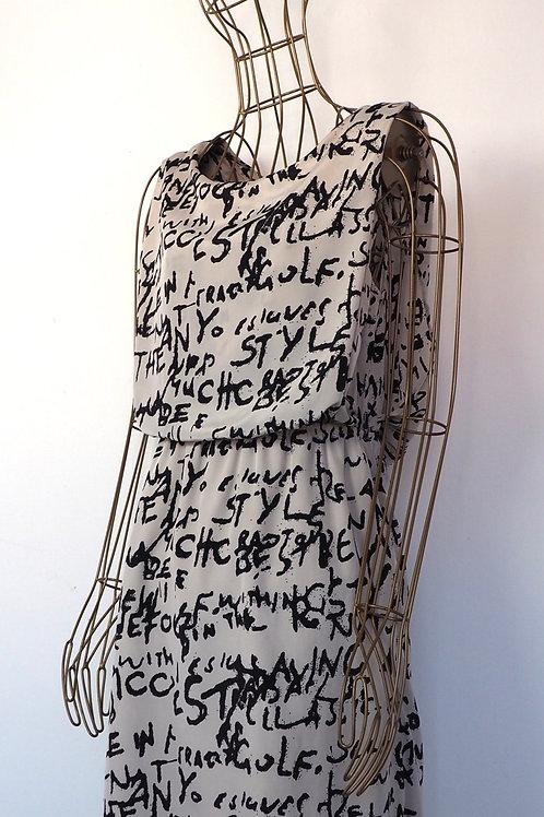 VILA Graffiti Dress