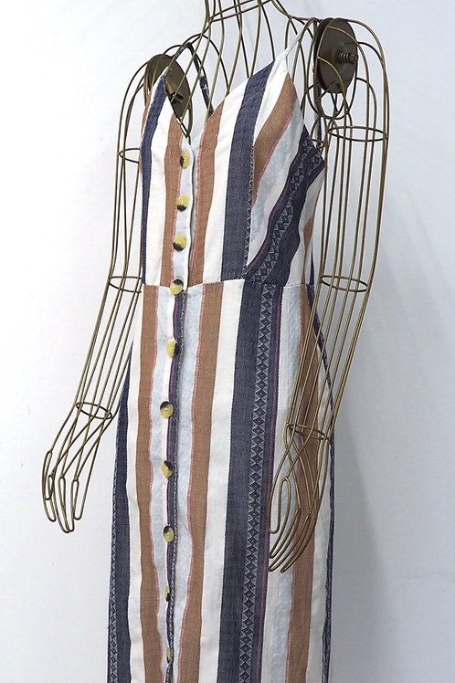 RESERVED Buttoned Dress