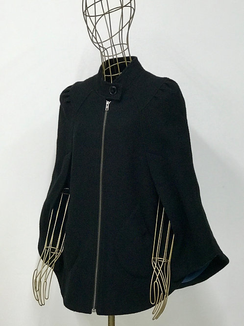 Black Cape with Pockets