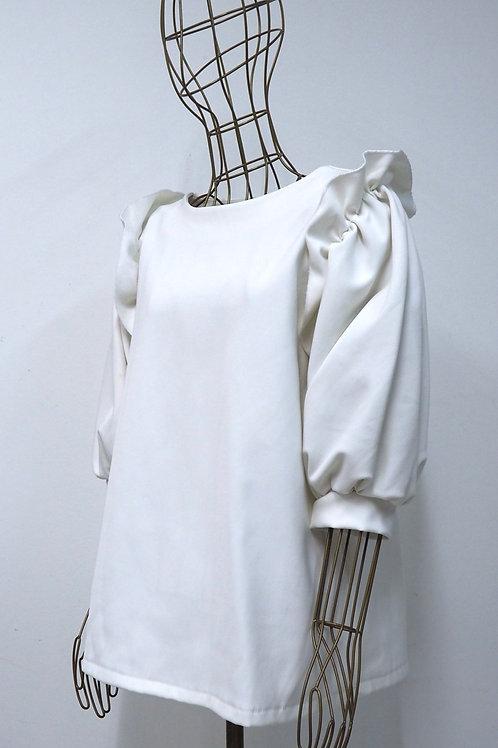HRVT Ruffle Stiff Shirt
