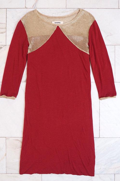NANUSHKA Minidress with Golden Details