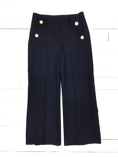 Zara Golden Buttoned Pants