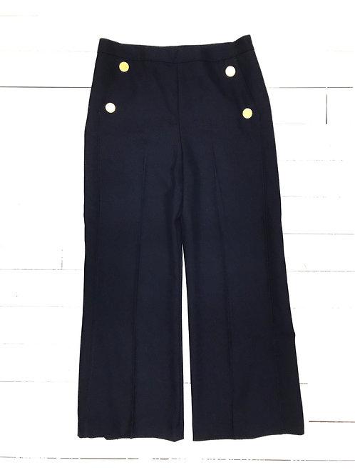 Zara Golden Buttoned Pants