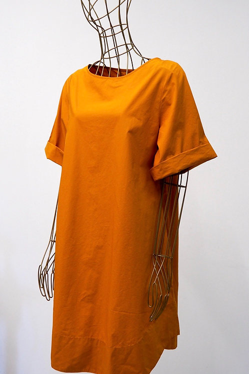 COS Orange Cotton Dress