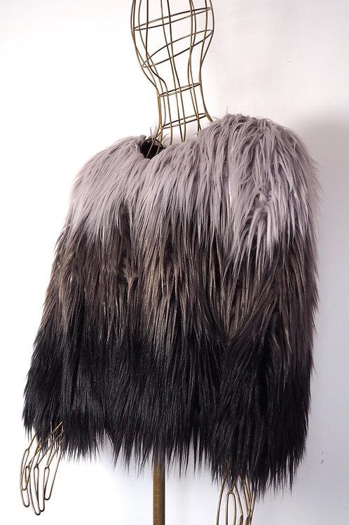 FAUX Fur Ombre Jacket