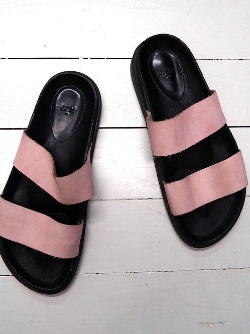 ZARA Trf Pink Slippers