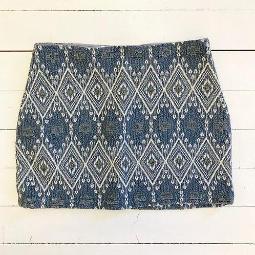 Mango Woven Lurex Skirt