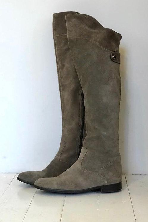 BAGATT Suede Overknee Boots