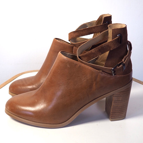 PROMOD Open Leather Ankleboots