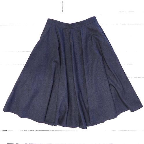 GANT Grey Wool Skirt