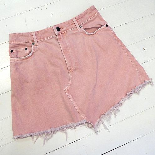 &OTHERSTORIES Pale Pink Denim Skirt