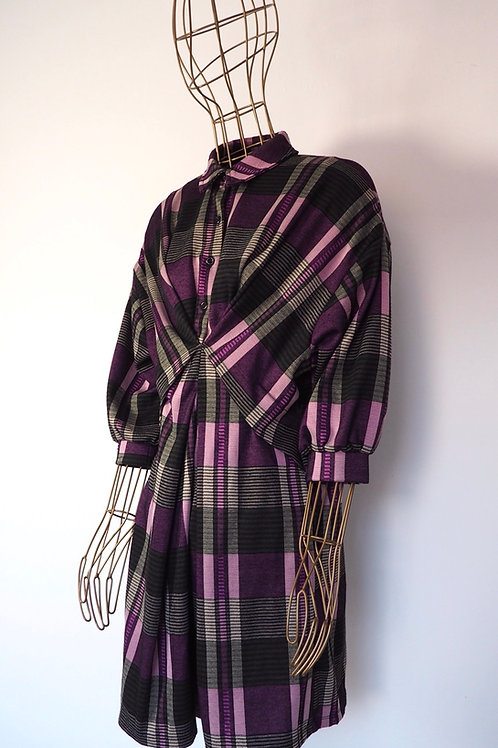 RESERVED Checked Dress