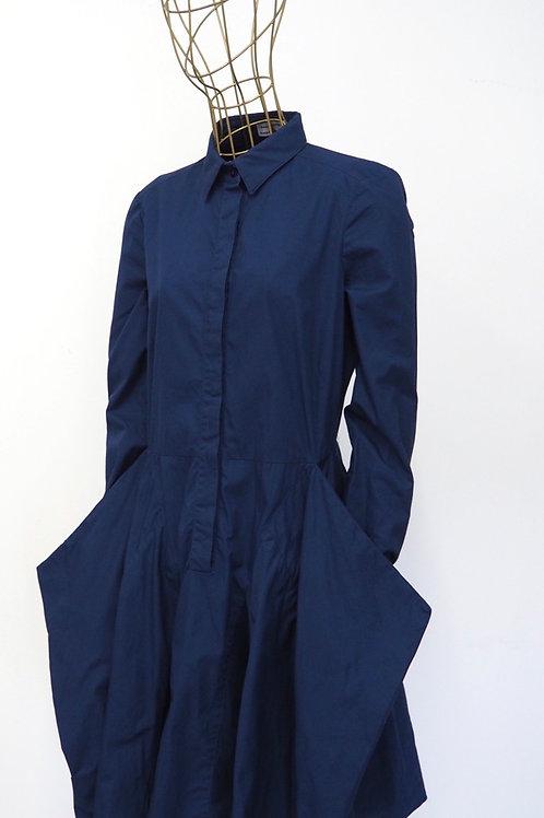 ALBERTA FERRETTI Structured Shirtdress