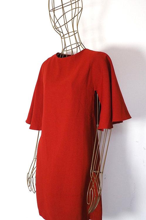 MANGO Terracotta Dress