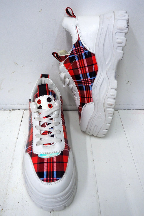 CHECKED High Sneakers