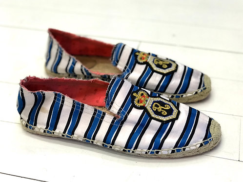 REPLAY Striped Espadrilles