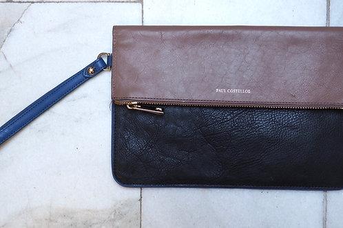 PAUL COSTELLOE Leather Envelope Bag