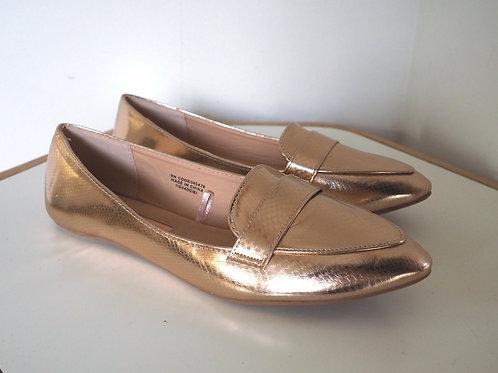ATMOSPHERE Rosegold Loafer