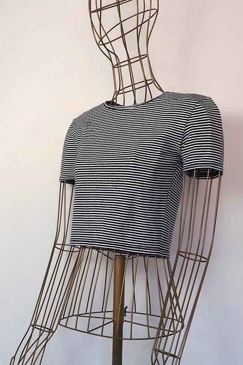 ZARA Striped Croptop