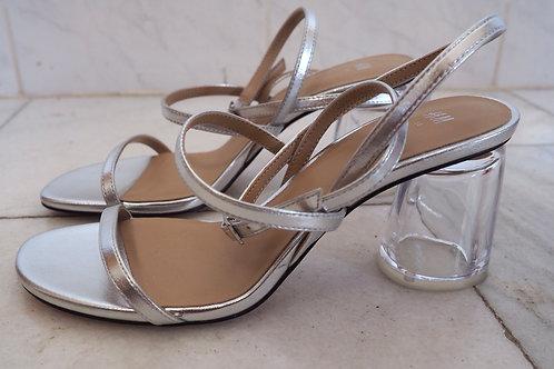 H&M Silver Strap Sandals