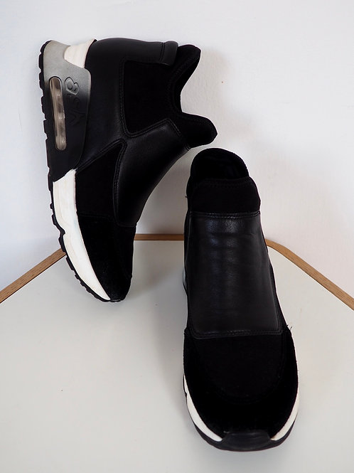 ASH Black Leather Sneakers