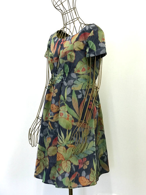 Flower silkdress Moschino