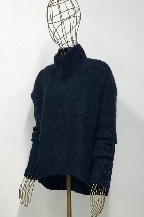 Wool Darkblue Sweater