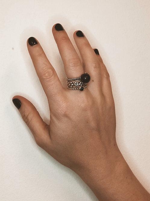 Pandora 3 Piece Rings